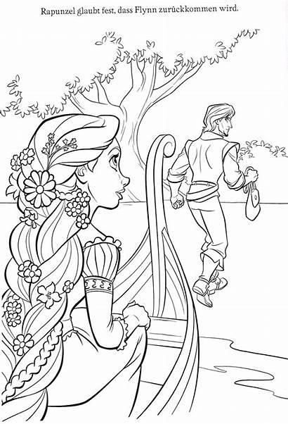 Rapunzel Coloring Disney Colorare Princess Pagine Immagini