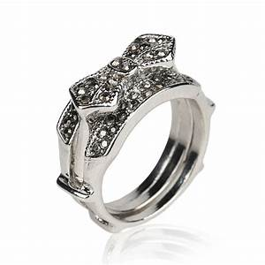 Black stone wedding ring unusual navokalcom for Black stone wedding rings