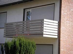 Balkonverkleidung Aus WPC SAUERLAND