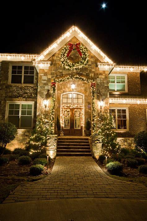 residential holiday lighting decor holiday bright lights