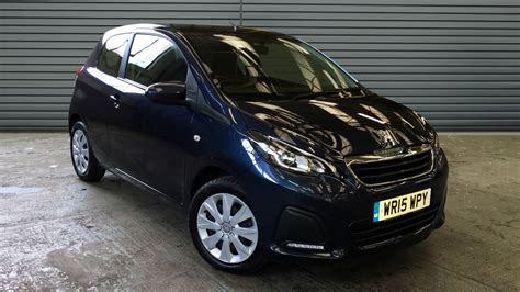 used peugeot 108 automatic used peugeot 108 hatchback 1 0 active 3dr 2015 wr15wpy