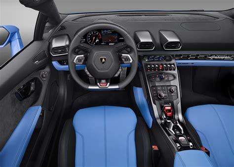 Wallpaper Lamborghini Huracan Lp610-4 Spyder, Interior