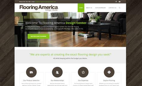 flooring america dayton ohio website design graphic