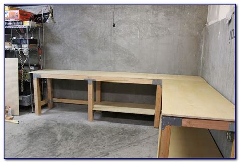 build   shaped workbench bench home design