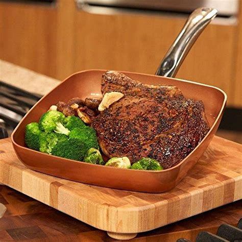 copper chef  square fry pan healthy food recipes