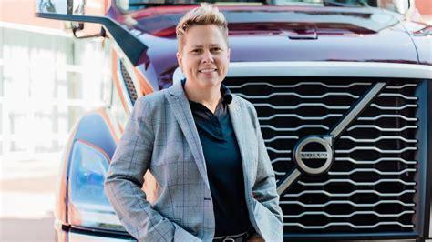 volvo trucks north americas christina ameigh touts