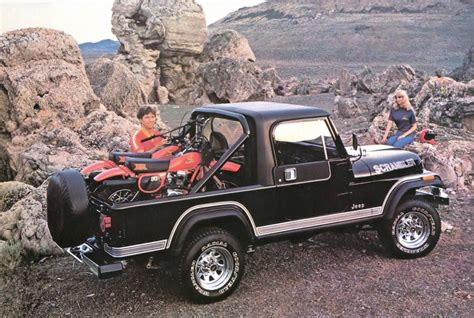 scrambler jeep years curbside classic 1985 jeep scrambler cj 8 a pickup in