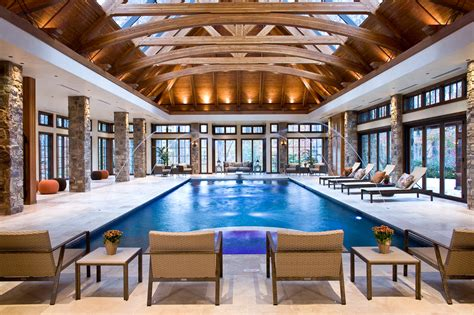 indoor pool  great room addition  potomac md bowa