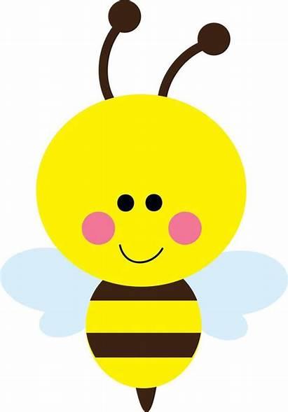 Bee Clip Bumble Beehive Vector Clipart Happy