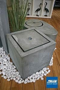 Tisch Höhe 60 Cm : gartenbrunnen zink kubus tisch 60 x 60 x 60 cm kaufen zinkbrunnen ~ Whattoseeinmadrid.com Haus und Dekorationen