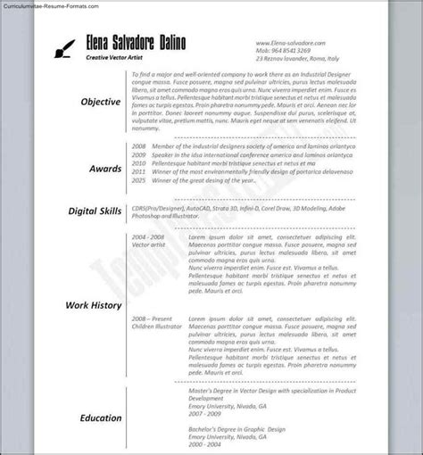 Best Resume Formats Free by Best Resume Templates Free Free Sles Exles