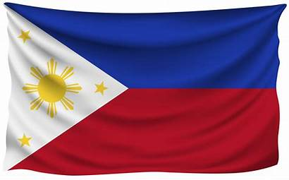Flag Philippines Clipart Wrinkled Transparent Clip Yopriceville