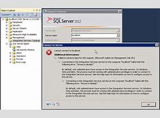 ssis SQL Server 2012 Integration Services failed when