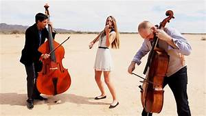 Rolling In The Deep - Adele  Violin  Cello  Bass Cover  - Simply Three