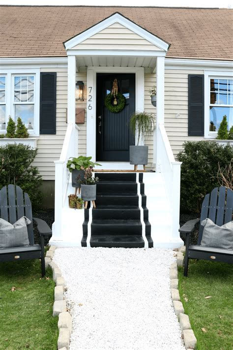 high small front porch front porch reveal with painted steps nesting with grace