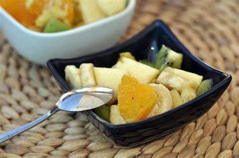recette salade de fruits maison