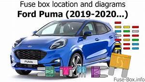 Fuse Box Location And Diagrams  Ford Puma  2019