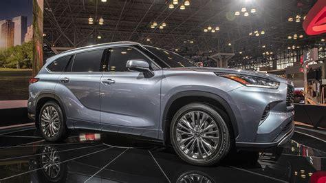 York Toyota by 2020 Toyota Highlander Look New York Auto Show