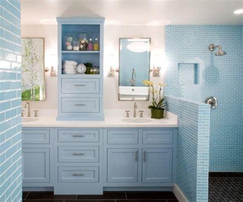 cool blue bathroom design ideas digsdigs