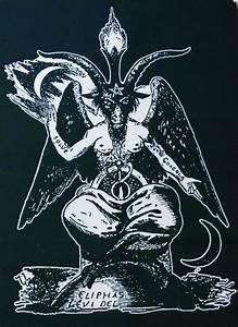 BAPHOMET SHIRT ouija satan witch magik goat by ...