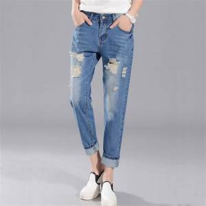 Baggy Bootcut Jeans - Jeans Am