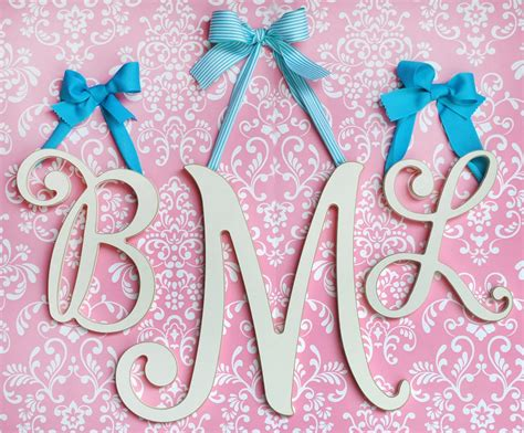 cursive wooden letter cursive wooden letters wooden letters
