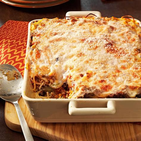 Baked Spaghetti Recipe | Taste of Home