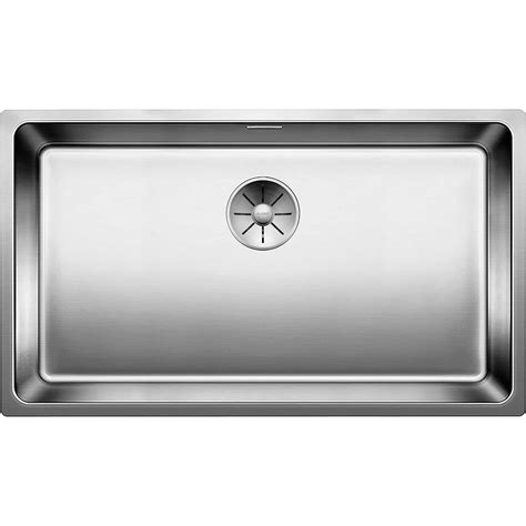 blanco kitchen sinks uk blanco andano 700 u undermount stainless steel kitchen sink 4784