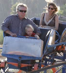 Gary Busey treats son and girlfriend to rollercoaster ride ...