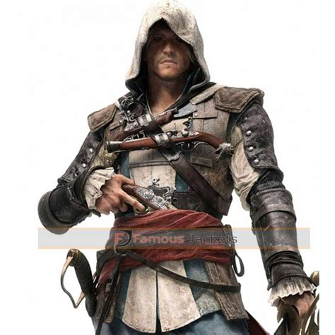 Assassins Creed Black Flag Edward Kenway Jacket Costume