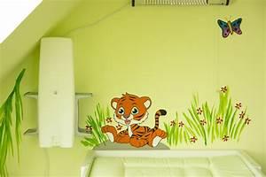 Wandgestaltung Für Kinderzimmer : kinderzimmer wandgestaltung dschungel ~ Michelbontemps.com Haus und Dekorationen