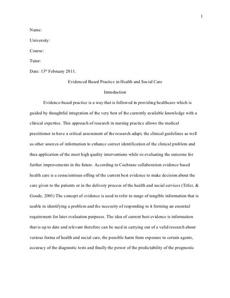 an exle of a research critique paper