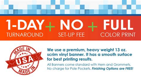 vinyl banners   sizes   prices