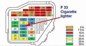 Solved  Looking For Fuse Location For Cigarette Lighter