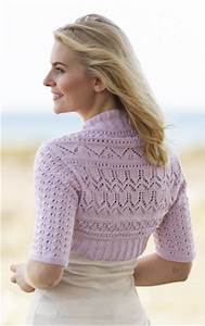 Free Shrug Knitting Pattern lovely pattern for ladies ...