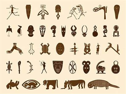 Symbols African Graphics Symbol South Freevector Motifs