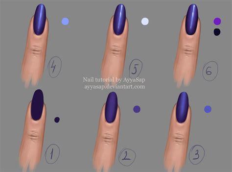 Nail Tutorial 2 By Ayyasap On Deviantart