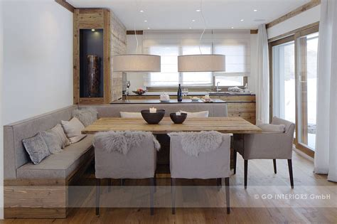 chalet valbella esszimmer von  interiors gmbh home