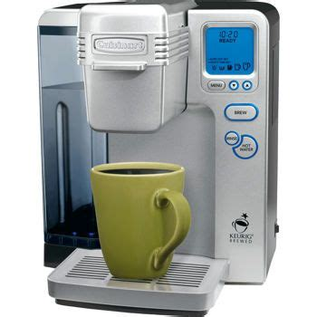 Using real stainless steel, the the biggest issue with this coffee maker was if the basket was not firmly in place or the carafe lid was not on correctly. Cuisinart® Single Serve Brewing System | Single serve coffee makers, Single serve coffee, Single ...