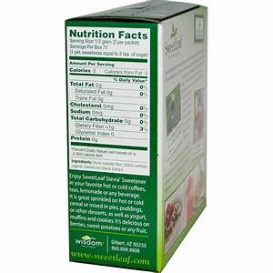 Stevia Nutrition Facts – Nutrition Ftempo