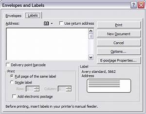 printing envelopes and labels part 2 labels legal With how to print labels on computer