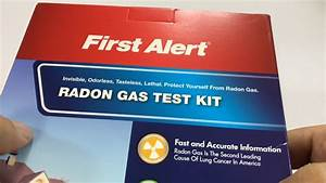 The cheapest First Alert RD1 Radon Gas Home Test Kit - YouTube