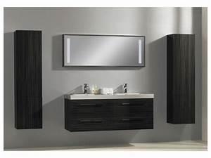 Meuble Vasque Double : photo meuble salle de bain double vasque ~ Teatrodelosmanantiales.com Idées de Décoration