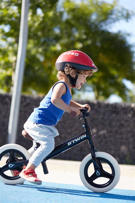 Btwin Run Ride Cruiser Kids' 10-Inch Balance Bike - Black ...