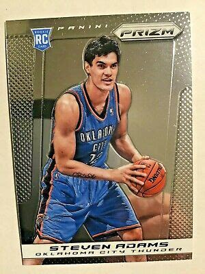 2013-14 Prizm Steven Adams RC Base card OKC Oklahoma City ...