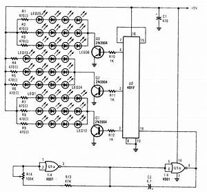36 Led Flasher Driver - Led And Light Circuit