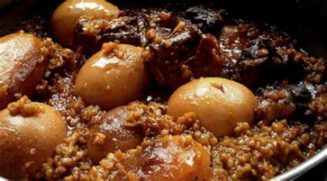 recette cuisine juive recette juive ashkénaze tcholent ou hamin ragoût de viande à l 39 orge recettes plat unique
