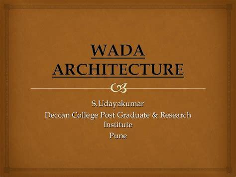 wada architecture