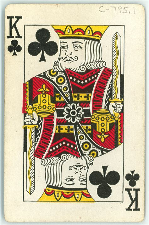 Check out our king of clubs card selection for the very best in unique or custom, handmade pieces from our greeting cards shops. Playing Card: King of Clubs - Item 2 of 2 - The Portal to Texas History