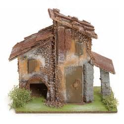 nativity setting rustic house in wood online sales on holyart co uk